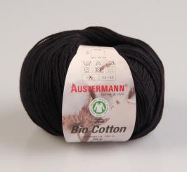 Bio Cotton Wolle Austermann 02 schwarz