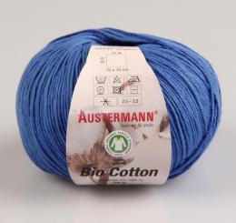 Bio Cotton Wolle Austermann 20 azur