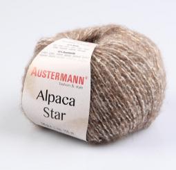 Alpaca Star Wolle Austermann 02 caramell