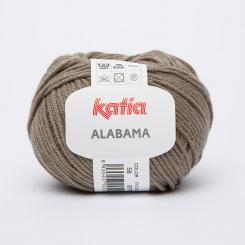 Alabama Wolle von Katia 58 Tabaco