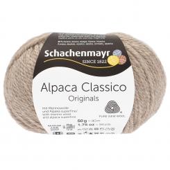Alpaca Classico Schachenmayr 00094 kiesel mel.