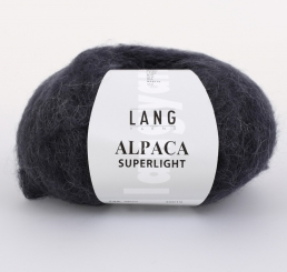 Alpaca Superlight Wolle Lang Yarns 025 NAVY