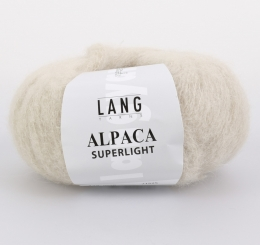 Alpaca Superlight Wolle Lang Yarns 026 SAND