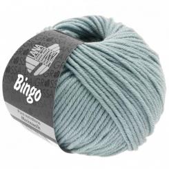 Bingo Uni und Melange Wolle Lana Grossa 190 blaugrau