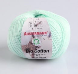 Bio Cotton Wolle Austermann 08 mint