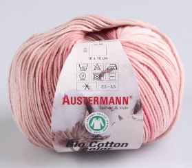 Bio Cotton Color Wolle von Austermann 105 magnolie