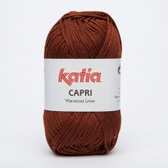 Capri Wolle von Katia 82162 Marrón Cobre