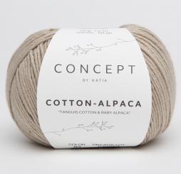Cotton Alpaca Wolle von Katia