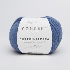 Cotton Alpaca Wolle von Katia 93 Jeans
