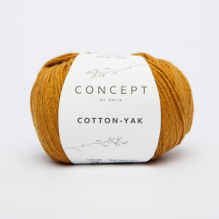 Cotton Yak Wolle von Katia 106 Ocre
