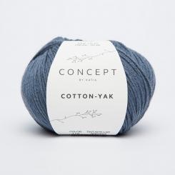 Cotton Yak Wolle von Katia 116 Jeans