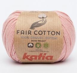 Fair Cotton Organic Wolle von Katia 32 Frambuesa