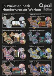 Opal Hundertwasser 2 Sockenwolle 100g-Knäuel