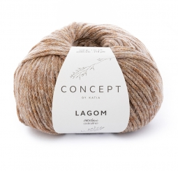 Lagom Wolle Katia Concept 106 Camel