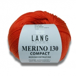 Merino 130 Compact Wolle Lang Yarns 064 BORDEAUX