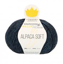 Regia Premium Alpaca Soft Sockenwolle 55 nachtblau meliert