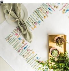 Stickpackung Decke Kräuterwiese von Rico