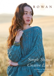 Simple Shapes Creative Linen Anleitungsheft von Rowan