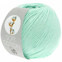 Soft Cotton Wolle von Lana Grossa 09 Helltürkis