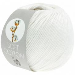 Soft Cotton Wolle von Lana Grossa 10 weiß