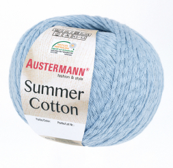 Summer Cotton Wolle Austermann 0014 himmel