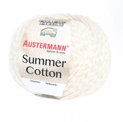 Summer Cotton Wolle Austermann 0010 natur