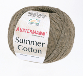 Summer Cotton Wolle Austermann 0007 schlamm