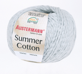 Summer Cotton Wolle Austermann 0008 silber