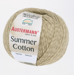 Summer Cotton Wolle Austermann 0006 sisal