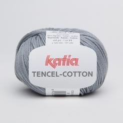 Tencel Cotton Wolle von Katia 09 Gris medio