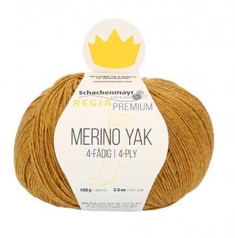 Regia Premium Merino Yak 100gr 4-fädig 07504 gold meliert