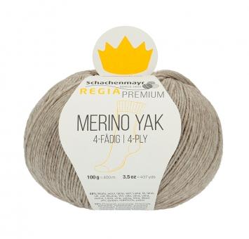Regia Premium Merino Yak 100gr 4-fädig 07510 beige meliert