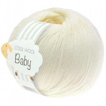 Cool Wool Baby 50g Lana Grossa 213 rohweiß