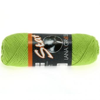 Star Wolle Lana Grossa 0037 gelbgrün