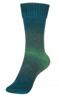 Step Merino 6-fädig Sockenwolle Austermann 108 Smaragd