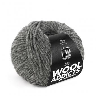 Air Wooladdicts von Lang Yarns 05 GRAU MÉLANGE