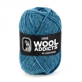Love Wooladdicts von Lang Yarns 74 ATLANTIK