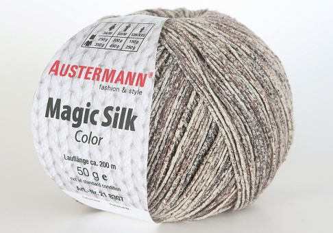 Magic Silk Color Wolle Austermann 0104 taupe