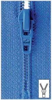 Feine Reißverschlüsse S1 von Prym 722 rot | 22 cm