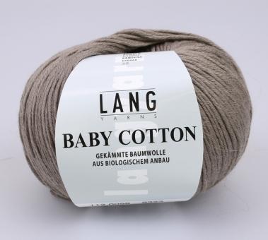 Baby Cotton Lang Yarns 099 SCHLAMM