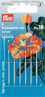 Prym Sticknadeln mit Spitze Nr. 18