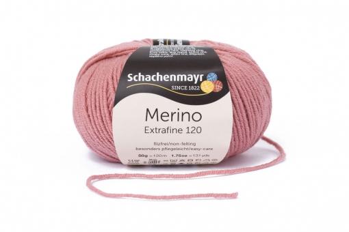 Merino Extrafine 120 Schachenmayr 00129 rose pink