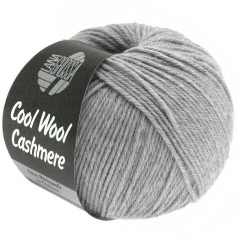 Cool Wool Cashmere Lana Grossa 13 hellgrau meliert