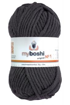 Myboshi Wolle No 1 195 antrazith