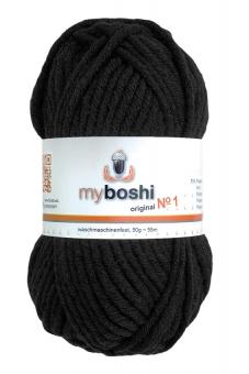 Myboshi Wolle No 1 196 schwarz