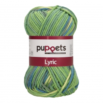 Puppets Lyric Multicolor Stärke 8 202 Dunkelgrün-Blau