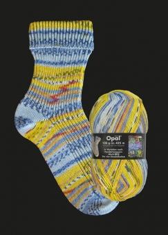 Opal Hundertwasser 2 Sockenwolle 100g-Knäuel 2105 - 805 Die vier Einsamkeiten