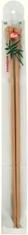 Jackenstricknadeln Bambus 33cm x 6mm