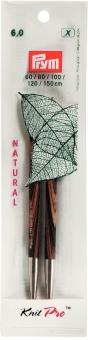 Knit Pro Stricknadelspitzen lang 6 mm