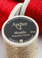 Anchor Metallic Stickgarn